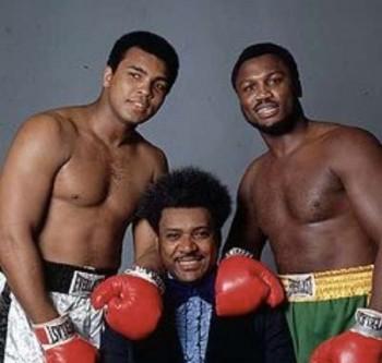 Muhammad Ali, Don King y Joe Frazier