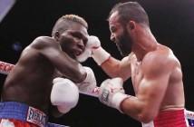 """""""Inocente"""" Álvarez vs Ben Tackie - Foto: Zanfer Boxing"""