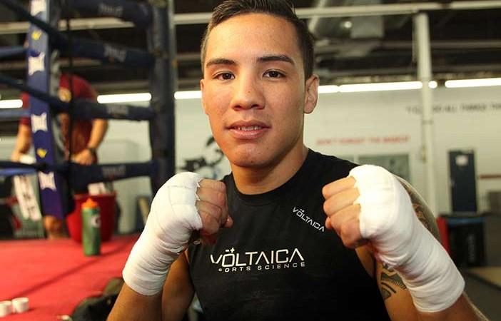 Óscar Valdez CREDITO DE FOTO: Chris Farina/Top Rank Inc.