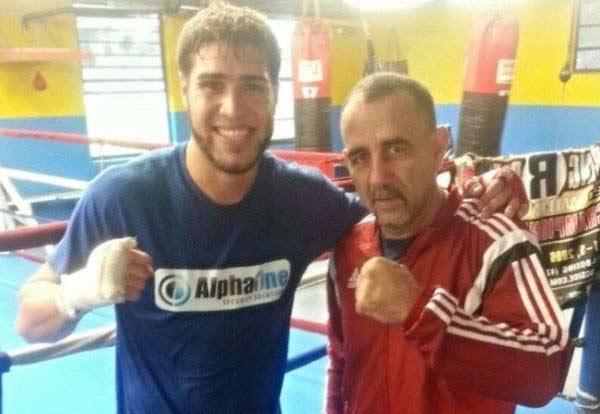 Prichard Colón junto a Pedro Díaz