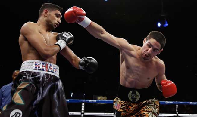 Amir Khan vs Danny García