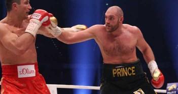 Fury se impuso a los puntos a Klitshcko