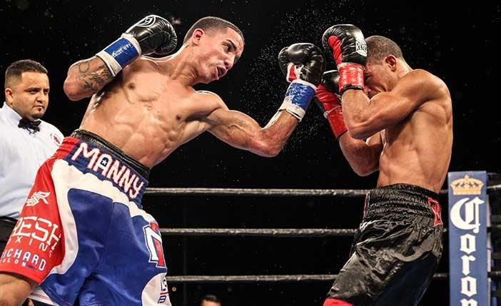 Rodriguez vs Aquino - Foto: Lucas Noonan/Premier Boxing Champions.
