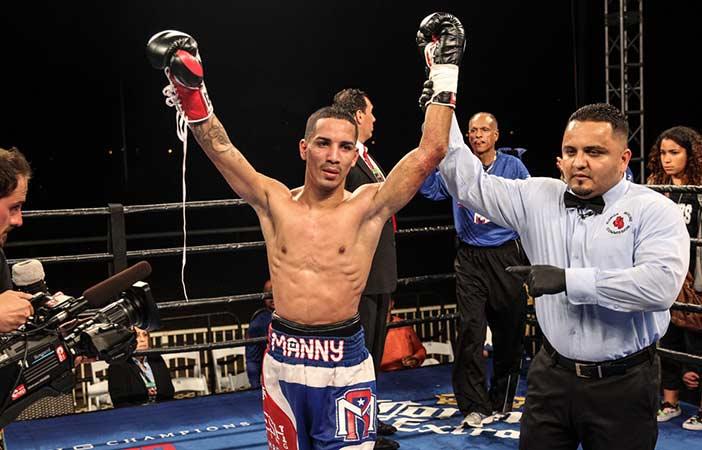 """Enmanuel """"Manny"""" Rodríguez - Foto: Lucas Noonan/Premier Boxing Champions."""
