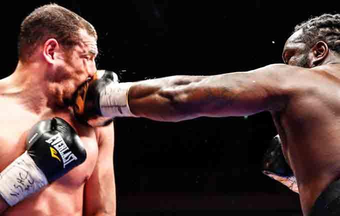 Bermane Stiverne vs Derric Rossy