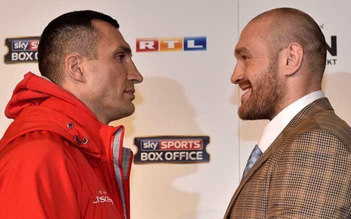 Wladimir Klitschko vs Tyson Fury