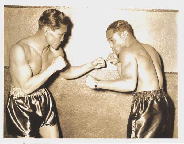 Ceferino García y Henry Armstrong