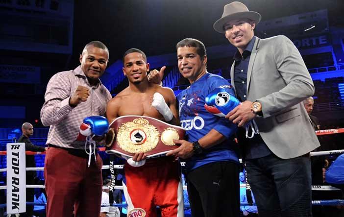 Félix Verdejo - Crédito de la imagen: Chris Farina / Top Rank Boxing