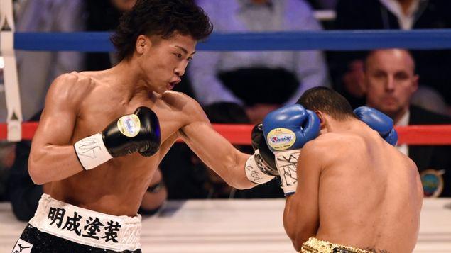 Inoue vs Parrenas - Foto: AFP