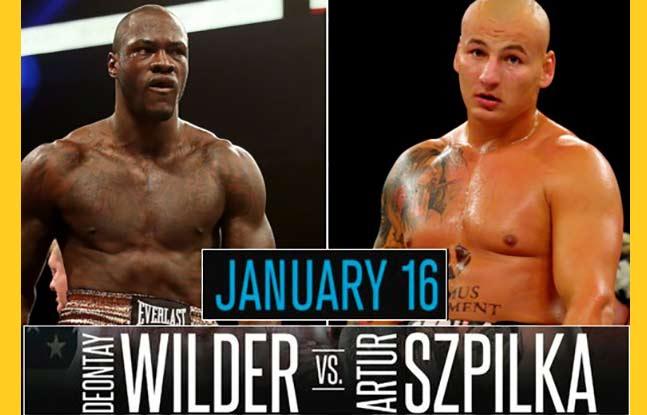 Deontay Wilder vs Artur Szpilka