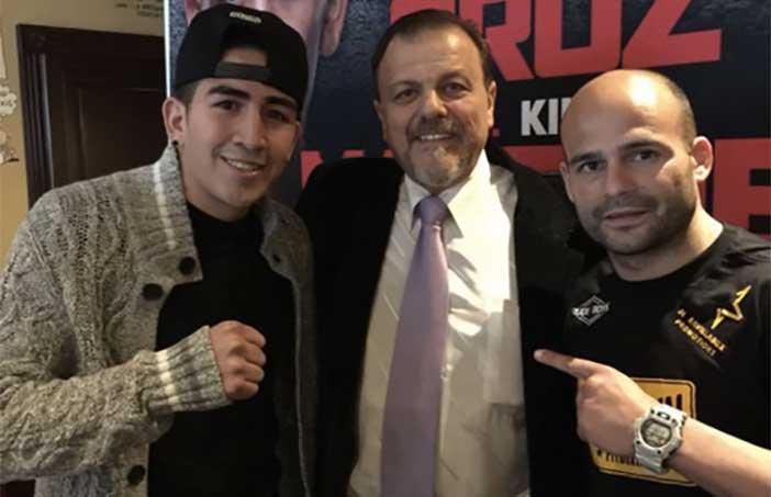 Leo Santa Cruz, Lewkoviwcz y Kiko Martínez
