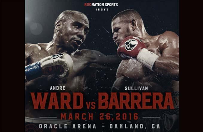 Andre Ward vs  Sullivan Barrera