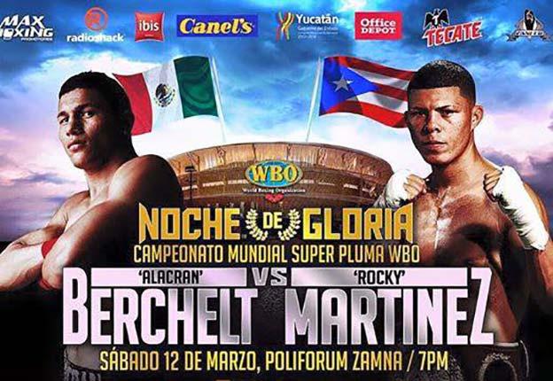 Berechelt vs Martinez se canceló