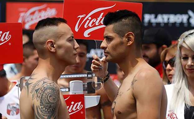 """Dante """"Crazy"""" Jardón vs Juan Carlos Salgado"""