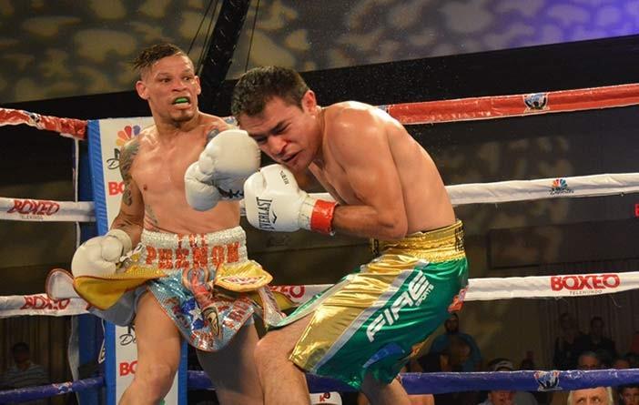 Orlando Cruz vs Rómulo Koasicha (Foto: Reynaldo Sánchez)