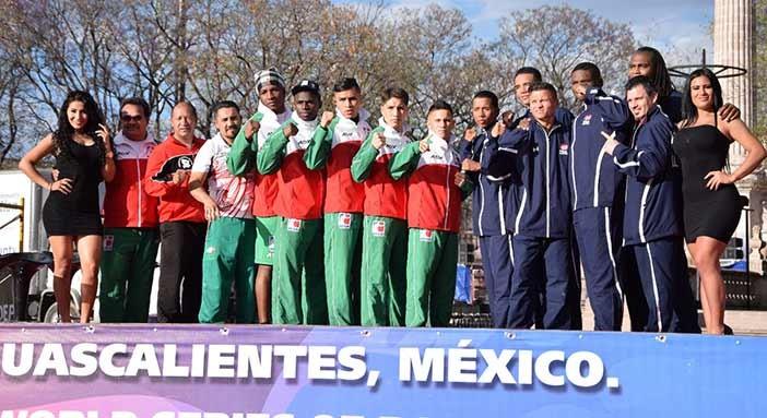 Guerreros México y USA Knockouts (Foto: Idea Aguascalientes)
