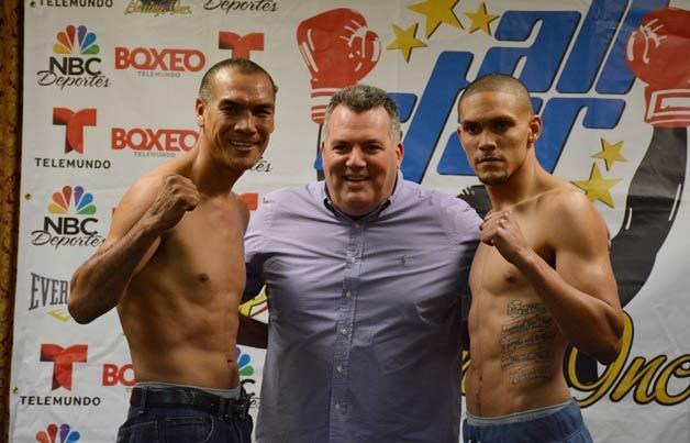 Sammy Valentin vs Cosme Rivera (Foto: Reynaldo Sánchez)