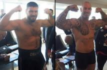 Chagaev vs Browne (Foto: Hatton Boxing)