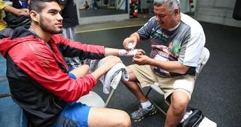 """""""Zurdo"""" Ramírez - Crédito Foto: Lizette De Los Santos, Zápari Boxing Promotions"""