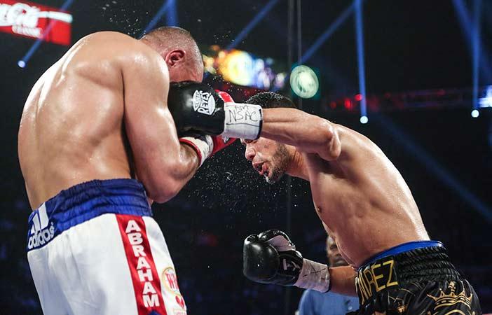 Ramírez vs Abraham (Fotos: Lizette De Los Santos, Zápari Boxing Promotions)