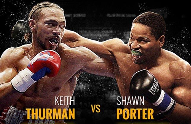 Keith Thurman Jr y Shawn Porter