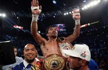 Manny Pacquiao pone punto y final con una gran victoria.
