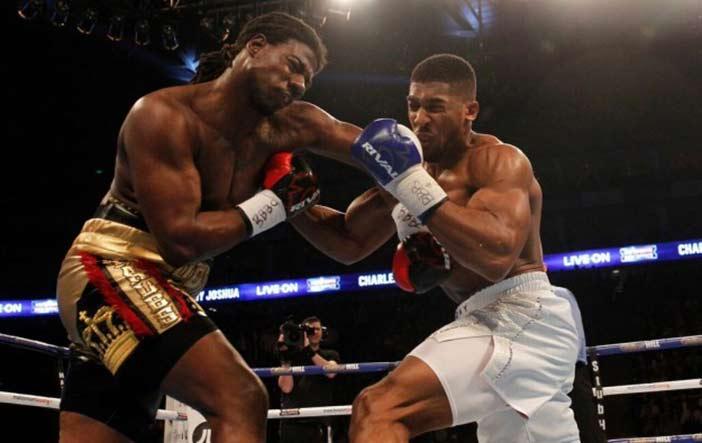 Martin vs Joshua (Foto cortesía: Matchroom Sport)
