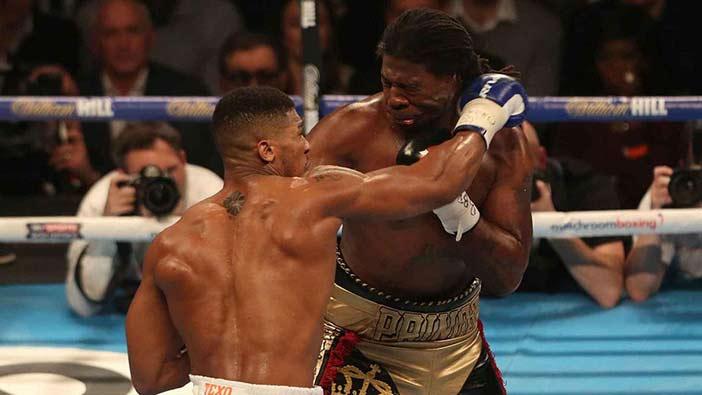 Martin vs Joshua (Foto cortesía de Matchroom Sport)