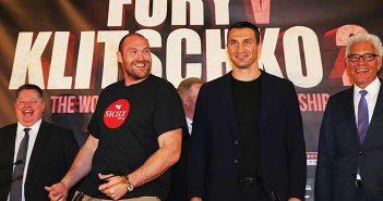 Tyson Fury vs Wladimir Klitscho II