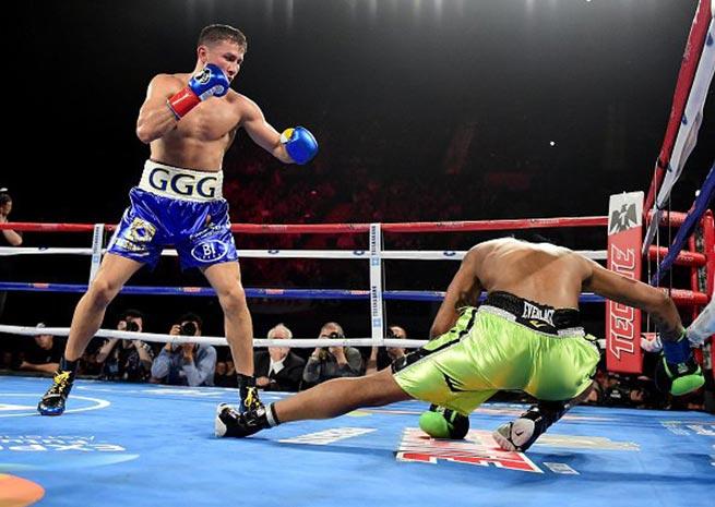Gennady Golovkin vs Wade