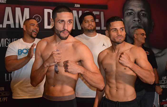 Miguel Cruz vs Samuel 'El Macho' Figueroa (Foto: Alex Nuñez)