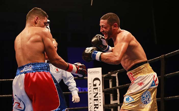 Miguel Cruz vs Figueroa - (Dave Nadkarni/Premier Boxing Champions)