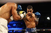 Alberto Machado vs Mendoza (Foto por Miguel Cotto Promotions)