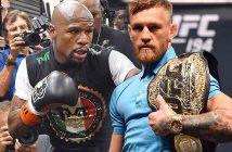 Mayweather vs McGregor (Foto: The Sun)