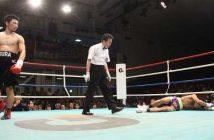 Miura noquea a Jimmy Borbon