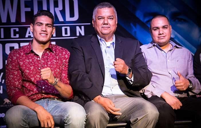 """Gilberto """"Zurdo"""" Ramírez (Crédito Foto: Lizette De Los Santos, Zápari Boxing Promotions)"""