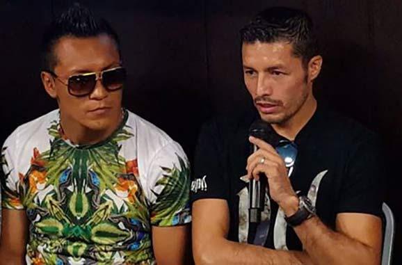 """Bandido"" Vargas y  Jhonny González"