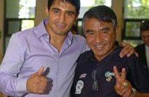 """Morales y su padre """"Olivaritos"""""""