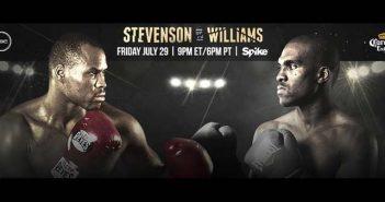 Adonis stevenson vs  Thomas Williams Jr.