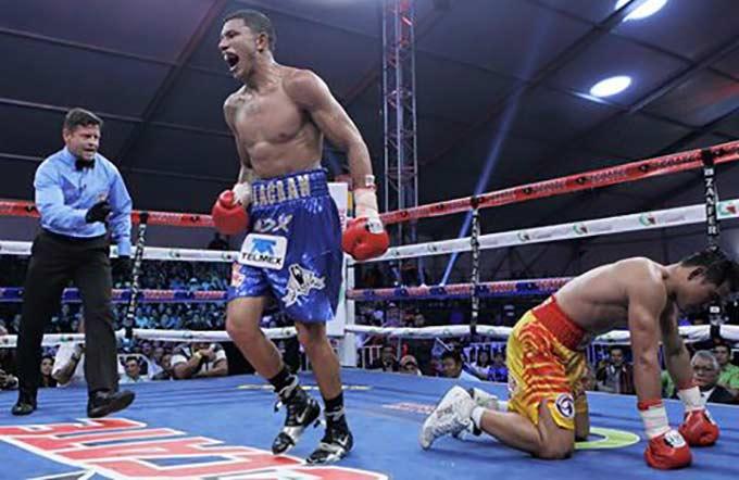 """Alacrán"" Berchelt vs Piriyapinyo (Zanfer Boxing)"