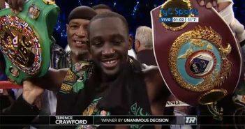 Crawford campeón de la OMB y del CMB