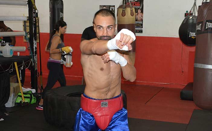 Paul Malignaggi (Foto: Reynaldo Sánchez)