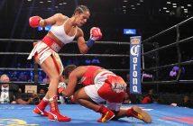 Serrano vs Salgado (Foto: Ed Diller / DiBella Entertainment)