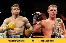 "Saúl ""Canelo"" Álvarez vs  Joe Saunders"