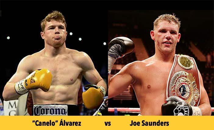 "Saúl ""Canelo"" Álvarez y Joe Saunders"