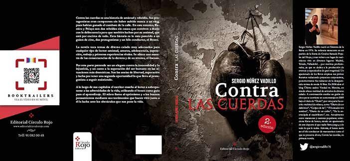 """Portada II Edición - Libro """"Contra las cuerdas"""""""