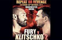 Cartel Tyson Fury vs Wladimir Klitschko II