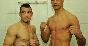 Walter Sequeira vs Ezequiel Maderna (Foto: Ramón Cairoed)