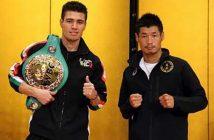 """Hugo """"Cuatito"""" Ruiz vs Hozumi Hasegawa (Photo: Sumio Yamada)"""