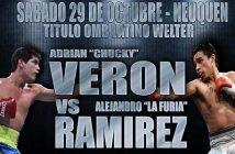 Chucky Verón expone vs. Alejandro Ramírez